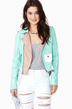 Ice Block Moto Jacket