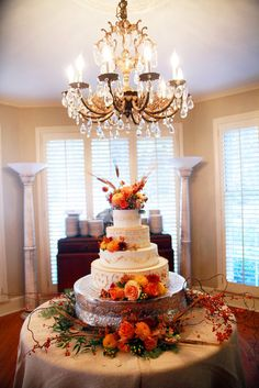 Cedarwood Weddings, Nashville Wedding Venue, Wedding Cakes, Fall Wedding Cake