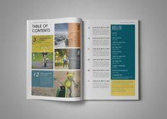 Multipurpose Magazine 5 by Grapics Studios on Creative Market