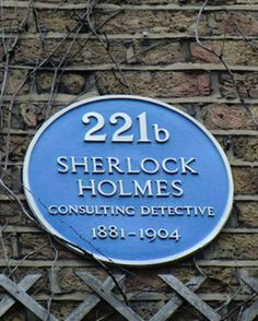"""TIL that when a building society took residence at Baker Street London in the they had to appoint a permanent """"secretary to Sherlock Holmes"""" to answer the high volumes of fan mail they received. Sherlock Holmes Address, Sherlock Bbc, Marylebone Village, Curious Facts, Benedict And Martin, 221b Baker Street, Street Names, Martin Freeman, Street Signs"""