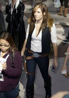 Rule 63: Han Solo | She knows