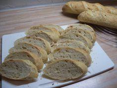 Kovászos baguette | Betty hobbi konyhája Baguette, Hobbit, Bread, Food, Essen, The Hobbit, Buns, Yemek, Breads