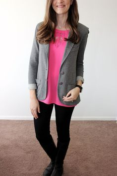 Love the tart blazer and the Liverpool skinny pants!