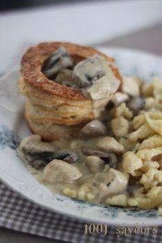 Bonjour à tous, Voici un classique de la cuisine française qu'on apprécie beaucoup chez nous. Il existe beaucoup de versions de cette recette (avec ou sans quenelles par exemple), je vous présente celle que j'aime. A la place des blancs de poulet vous...