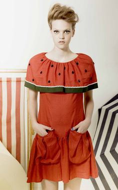 Vivetta watermelon dress
