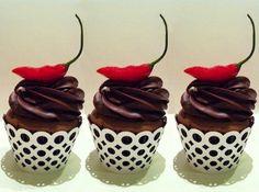 Cupcakes de Chocolate com Pimenta | Creative