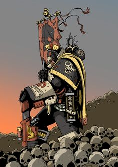 Mortifactors Marine by DarkMechanic