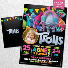 Free Trolls Birthday Party Printables