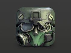 iOS icon found on Dribbble.