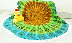 """Tablecloths – Roundie tapestry for Wall Decor 72"""" inch Beach Ta – a unique product by INDIANTRADITIONAL on DaWanda"""