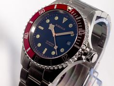 Borealis Francis Drake Automatic Diver Watch with Seagull ST2130 movement.  Can be purchased at http://www.borealiswatch.com/collection/