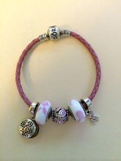 My Pandora Breast Cancer Awareness bracelet