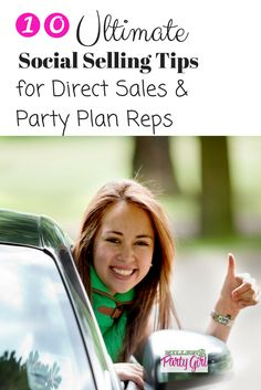 10 Ultimate Social Selling Tips for Direct Sales & Party Plan Reps, includes how to link your Facebook biz page to your personal page, best practices for your personal facebook page and why liking your friends biz page might actually cost you customers.