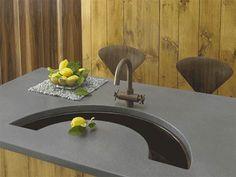 unique design of copper undermount sink kitchen   26 Best Unique Bathroom & Kitchen Sinks images   Sink ...