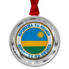 Shop Rwanda Round Emblem Metal Ornament created by KDR_DESIGN. Rwanda Flag, Family Memories, Invitation Cards, Silver Color, Flags, Holiday Gifts, Art For Kids, Wedding Gifts, Create Yourself