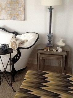 RS project - eclectic - living room - atlanta - Moore Designs
