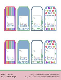 Free printable easter basket tags merry christmas and happy new free printable easter basket tags negle Image collections