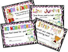 discipline certificates