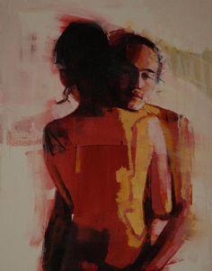 """Mark  Horst - """"Hold the Light 2"""" #art #love #embrace"""