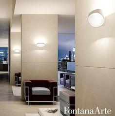 Seinavalgusti Bonnet, 18W/2050lm 2700K, Disain seinavalgustid, Elutoa valgustid, Kodu seinavalgustid, Koduvalgustid, LED seinavalgustid, Led valgustid, Led-valgustid. Bränd: Fontana Arte