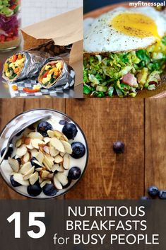 15 Nutritious Breakfasts for Busy People ‹ Hello Healthy