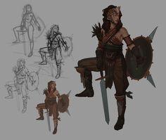 Character Demo Twitch Stream, John Grello on ArtStation at https://www.artstation.com/artwork/character-demo-twitch-stream