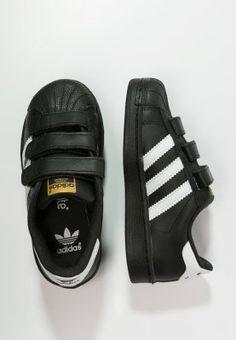 adidas Originals SUPERSTAR FOUNDATION - Sneakers laag - core black - Zalando.be