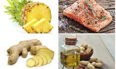 Alimentos que sanan y alivian casi todos los dolores. Hay ciertas frutas, verduras y pescados que son excelentes para aliviar cualquier mal, nutrir el organismo y crear un escudo para prevenir futuras enfermedades.