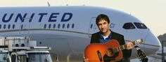 United Airlines: United Breaks Guitars:  Dave Carroll wasn't getting anywhere when he complained to United Airlines that they had broken his guitar so he set his complaint to music... and it went viral