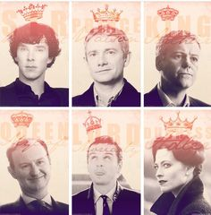Kings and Queen (Mycroft)