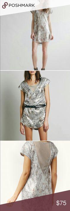 Free People Midnight Dreamer Tunic Dress NWT Never worn-trade value $100 Free People Dresses Mini