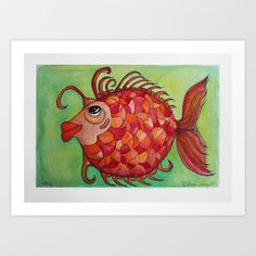 AMY Art Print by Caribbean Critters Co. - $19.00