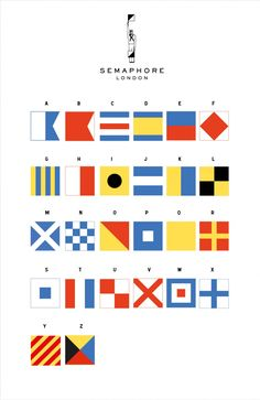 Semaphore Language Palette