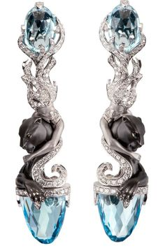 Creative Lalique - when I first glanced at these, I thought they were roses, then saw they're panthers not big on that.