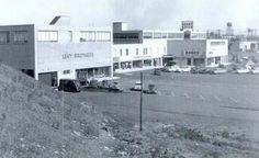 Back of Styertowne Center in Clifton NJ 1950's