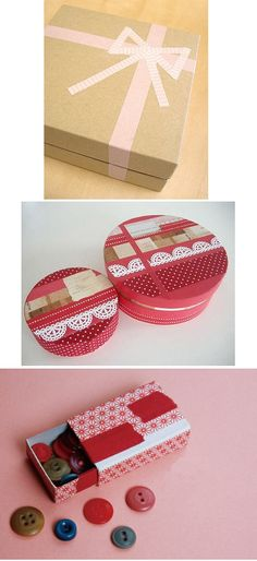 I would love to do the top washi tape design on my laptop! Washi Tape Storage, Washi Tape Crafts, Ribbon Crafts, Washi Tapes, Mt Tape, Masking Tape, Paper Gifts, How To Make Bows, Craft Items