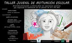 Taller juvenil de motivación escolar #motivar #motivación Motivational, School Motivation, Atelier, Activities, Youth