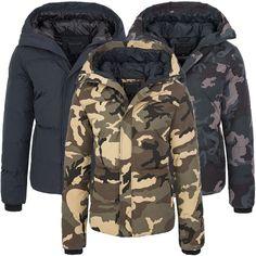 Winterjacke khaki h&m