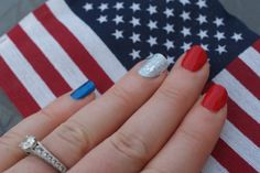 Easy 4th of July Nail Designs