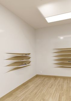 // The wall shelves on Behance