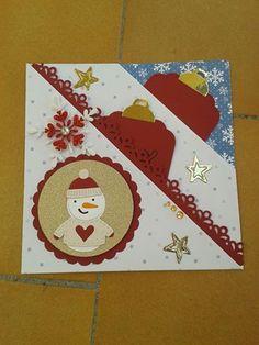Card con tasche diagonali, La coppia creativa
