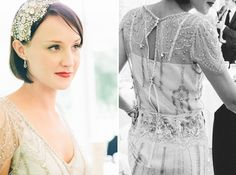 Gorgeous bride in Jenny Packham eden wedding dress- elegant Devon country house wedding