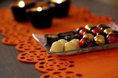 Bieżnik filcowy Candy od www.filcocuda.pl