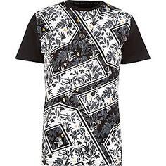 Black 26 Million all over print t-shirt
