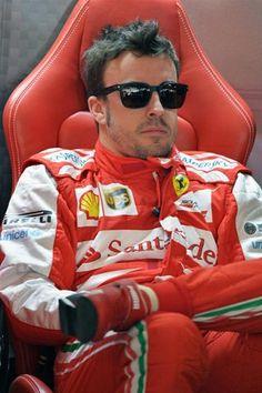 Fernando Alonso Scuderia Ferrari