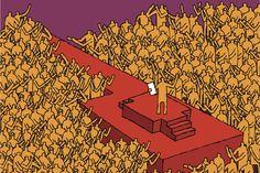 Control social a golpe de palabras vacías ⚫ ¿Cómo hablar mucho sin decir nada se ha convertido en una estrategia de lobotomización de masas? George Orwell, O Grande Ditador, Control Social, Contexto Social, Me Equivoco, Decir No, Religion, Movie Posters, Coach