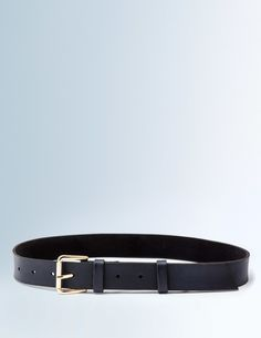 It may not always be the star of the show but a good belt, slung round the hips, is the best supporting act (literally). Our rich leather style with a polished buckle is perfect for bringing together all the other players in your outfit.