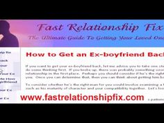 The Ultimate Guide on How to Win Your Ex Boyfriend Back - #exback http://www.fastrelationshipfix.com/blog/