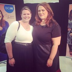 Chrissie Swan launching her new plus size clothing range