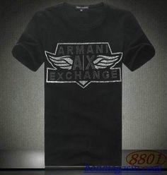 Vendre Pas Cher Homme Armani Tee Shirts H0133 En ligne En France.